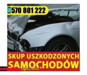 Skup Aut / Samochodów Uszkodzonych , Po Wypadku Śląsk,Małopolska,Opolskie
